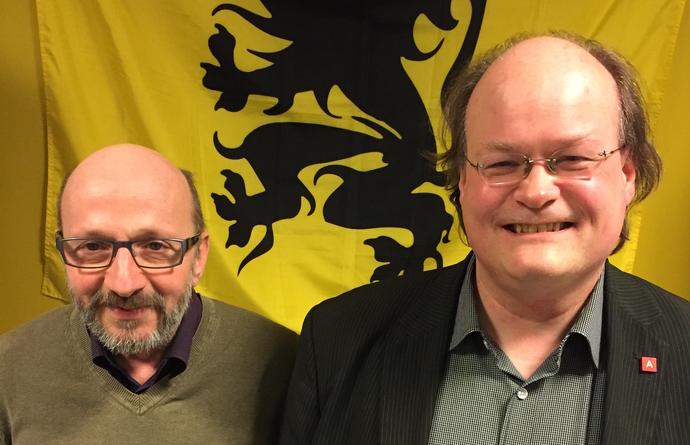 Hans Gooris en Bert Corluy